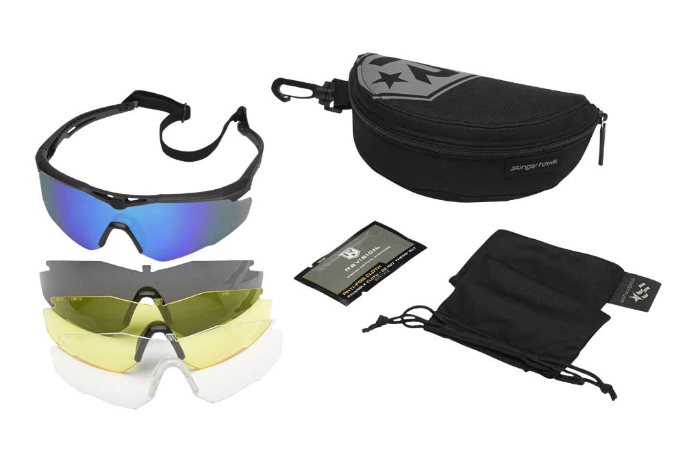 Stingerhawk Spectacles, Deluxe Kit, CRD Protection